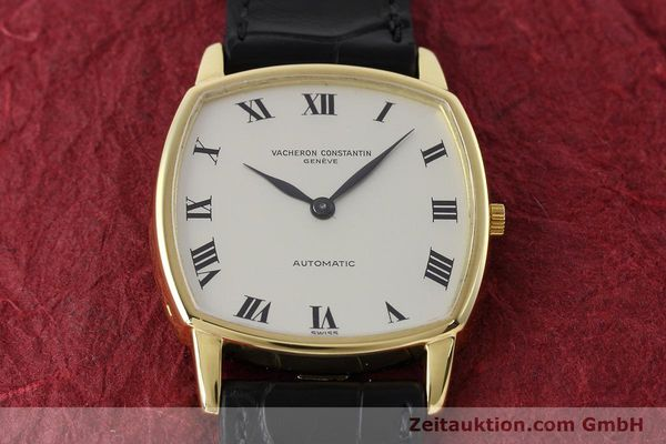 Used luxury watch Vacheron & Constantin * 18 ct gold automatic Kal. 1120 Ref. 7390  | 152721 14