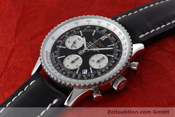 Used luxury watch Breitling Navitimer chronograph steel automatic Kal. ETA 7750 Ref. A23322  | 152728 01