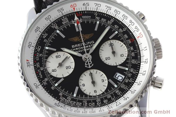 Used luxury watch Breitling Navitimer chronograph steel automatic Kal. ETA 7750 Ref. A23322  | 152728 02