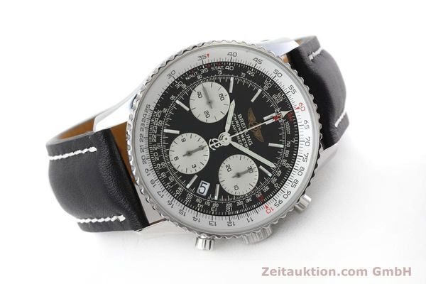 Used luxury watch Breitling Navitimer chronograph steel automatic Kal. ETA 7750 Ref. A23322  | 152728 03
