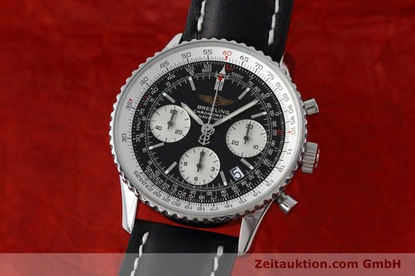 Used luxury watch Breitling Navitimer chronograph steel automatic Kal. ETA 7750 Ref. A23322  | 152728 04
