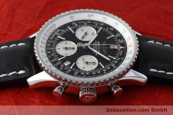 Used luxury watch Breitling Navitimer chronograph steel automatic Kal. ETA 7750 Ref. A23322  | 152728 05