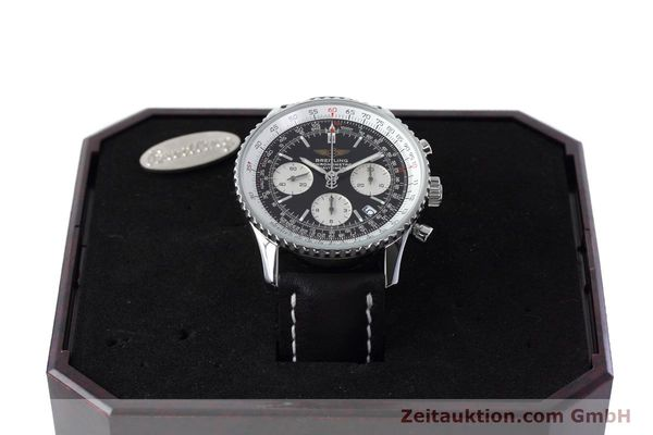 Used luxury watch Breitling Navitimer chronograph steel automatic Kal. ETA 7750 Ref. A23322  | 152728 07