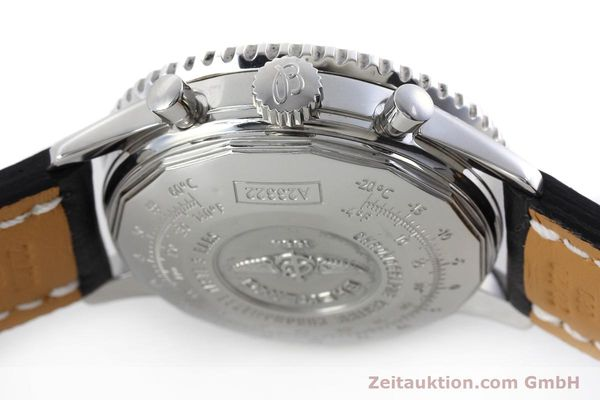 Used luxury watch Breitling Navitimer chronograph steel automatic Kal. ETA 7750 Ref. A23322  | 152728 11