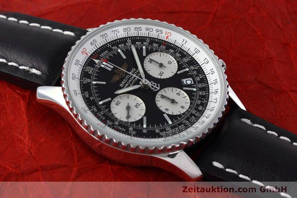 Used luxury watch Breitling Navitimer chronograph steel automatic Kal. ETA 7750 Ref. A23322  | 152728 14