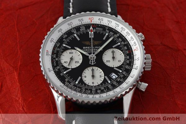Used luxury watch Breitling Navitimer chronograph steel automatic Kal. ETA 7750 Ref. A23322  | 152728 15