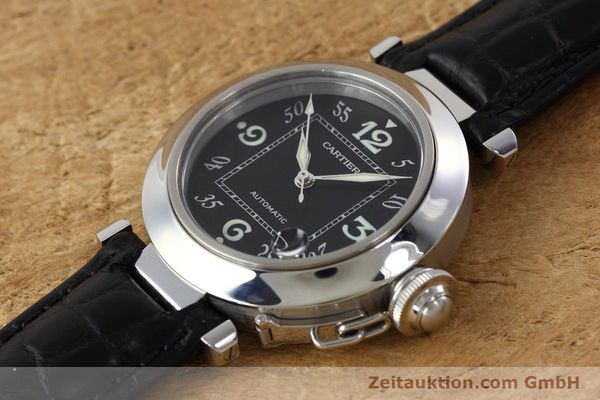 Used luxury watch Cartier Pasha steel automatic Kal. 049 ETA 2892A2 Ref. 2324  | 152733 01