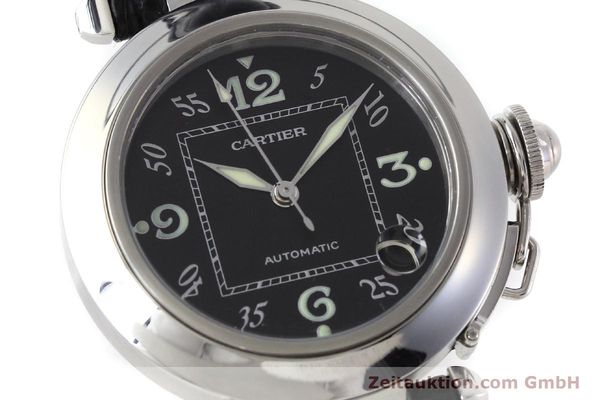 Used luxury watch Cartier Pasha steel automatic Kal. 049 ETA 2892A2 Ref. 2324  | 152733 02
