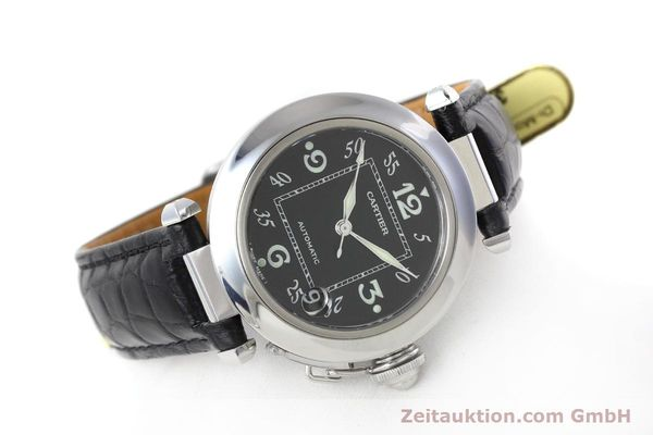 Used luxury watch Cartier Pasha steel automatic Kal. 049 ETA 2892A2 Ref. 2324  | 152733 03