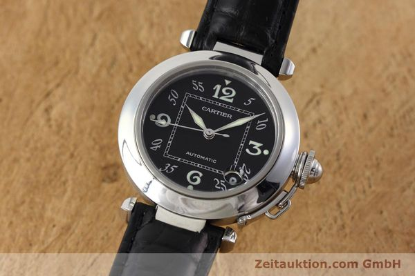 Used luxury watch Cartier Pasha steel automatic Kal. 049 ETA 2892A2 Ref. 2324  | 152733 04