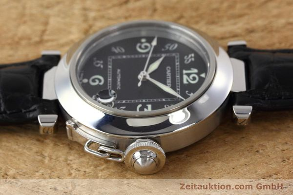 Used luxury watch Cartier Pasha steel automatic Kal. 049 ETA 2892A2 Ref. 2324  | 152733 05