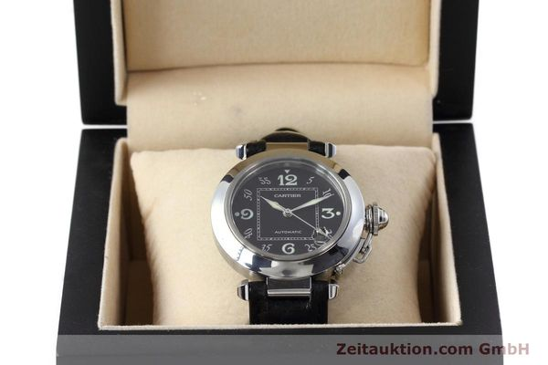 Used luxury watch Cartier Pasha steel automatic Kal. 049 ETA 2892A2 Ref. 2324  | 152733 07