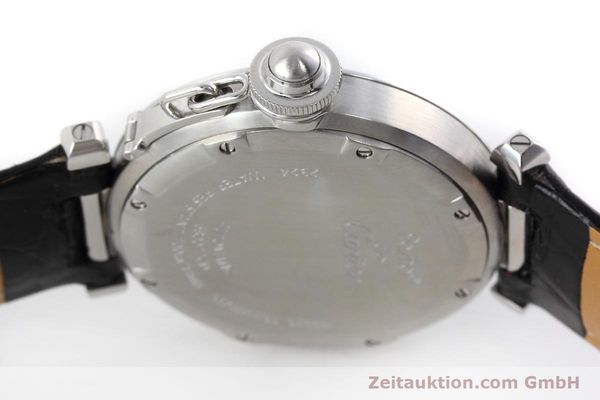 Used luxury watch Cartier Pasha steel automatic Kal. 049 ETA 2892A2 Ref. 2324  | 152733 08