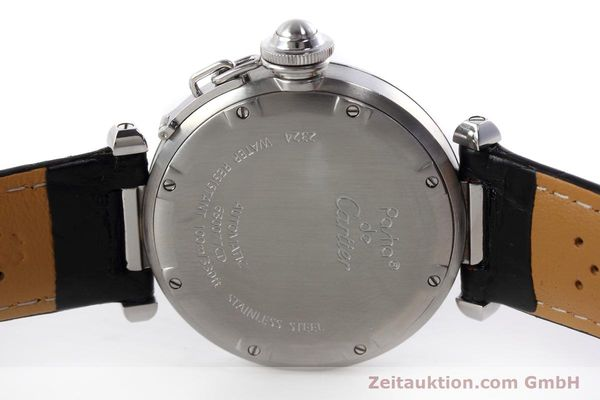Used luxury watch Cartier Pasha steel automatic Kal. 049 ETA 2892A2 Ref. 2324  | 152733 09