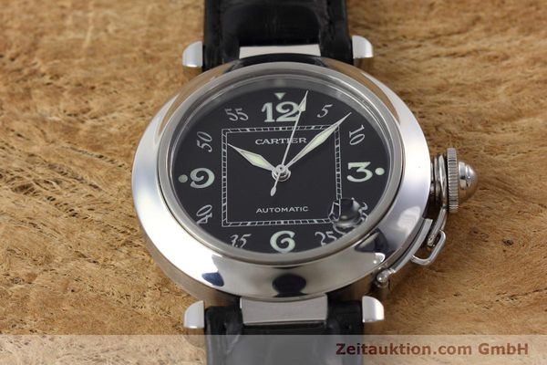 Used luxury watch Cartier Pasha steel automatic Kal. 049 ETA 2892A2 Ref. 2324  | 152733 15