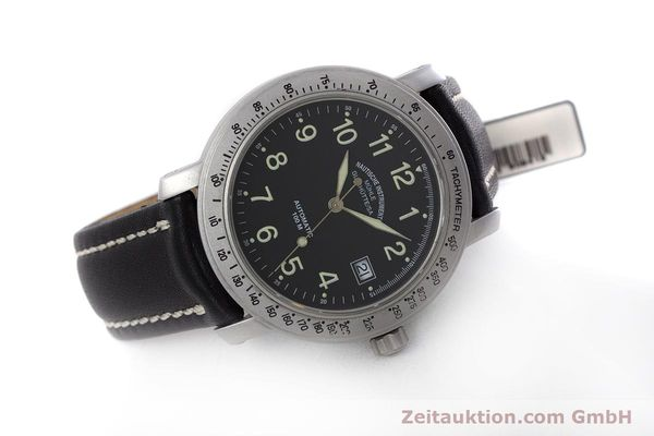 Used luxury watch Mühle Marinefliegeruhr  steel automatic Kal. ETA 2824-2 Ref. M1-30-00  | 152736 03