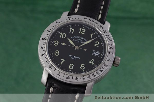 Used luxury watch Mühle Marinefliegeruhr  steel automatic Kal. ETA 2824-2 Ref. M1-30-00  | 152736 04