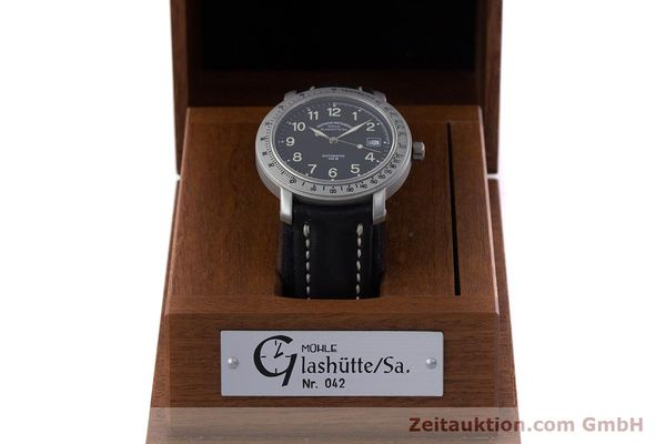 Used luxury watch Mühle Marinefliegeruhr  steel automatic Kal. ETA 2824-2 Ref. M1-30-00  | 152736 07