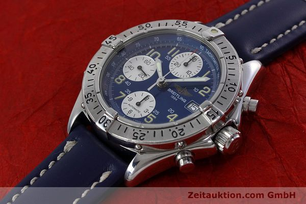 Used luxury watch Breitling Colt chronograph steel automatic Kal. B13 ETA 7750 Ref. A13035.1  | 152737 01