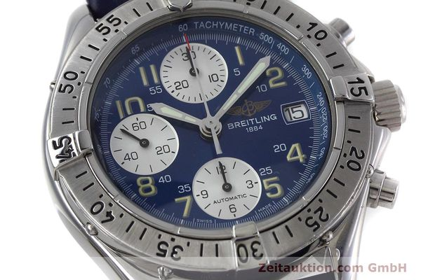 Used luxury watch Breitling Colt chronograph steel automatic Kal. B13 ETA 7750 Ref. A13035.1  | 152737 02