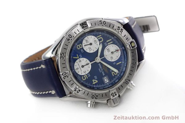 Used luxury watch Breitling Colt chronograph steel automatic Kal. B13 ETA 7750 Ref. A13035.1  | 152737 03