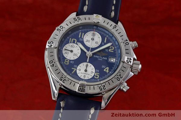 Used luxury watch Breitling Colt chronograph steel automatic Kal. B13 ETA 7750 Ref. A13035.1  | 152737 04
