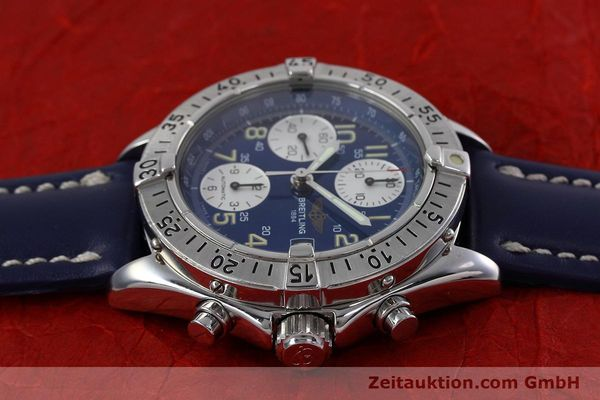 Used luxury watch Breitling Colt chronograph steel automatic Kal. B13 ETA 7750 Ref. A13035.1  | 152737 05