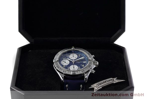 Used luxury watch Breitling Colt chronograph steel automatic Kal. B13 ETA 7750 Ref. A13035.1  | 152737 07