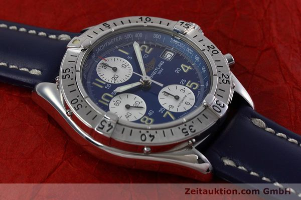 Used luxury watch Breitling Colt chronograph steel automatic Kal. B13 ETA 7750 Ref. A13035.1  | 152737 14