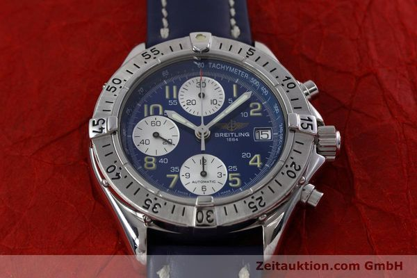 Used luxury watch Breitling Colt chronograph steel automatic Kal. B13 ETA 7750 Ref. A13035.1  | 152737 15