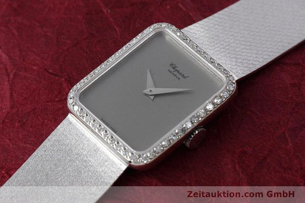 Used luxury watch Chopard * 18 ct white gold manual winding Kal. 846 Ref. 5088  | 152742 01