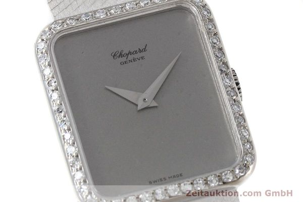 Used luxury watch Chopard * 18 ct white gold manual winding Kal. 846 Ref. 5088  | 152742 02