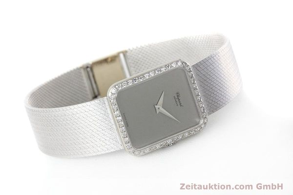 Used luxury watch Chopard * 18 ct white gold manual winding Kal. 846 Ref. 5088  | 152742 03