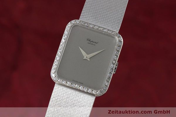 Used luxury watch Chopard * 18 ct white gold manual winding Kal. 846 Ref. 5088  | 152742 04
