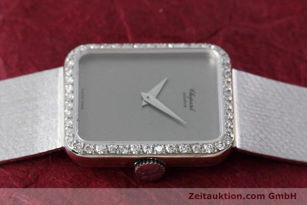 Used luxury watch Chopard * 18 ct white gold manual winding Kal. 846 Ref. 5088  | 152742 05