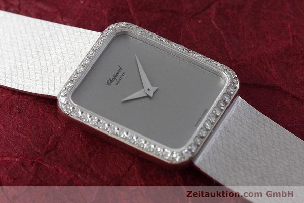 Used luxury watch Chopard * 18 ct white gold manual winding Kal. 846 Ref. 5088  | 152742 15