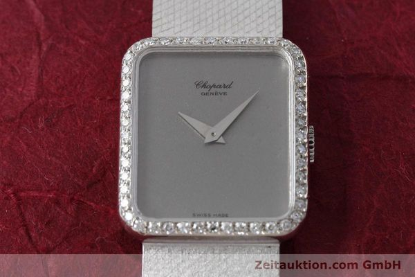 Used luxury watch Chopard * 18 ct white gold manual winding Kal. 846 Ref. 5088  | 152742 16
