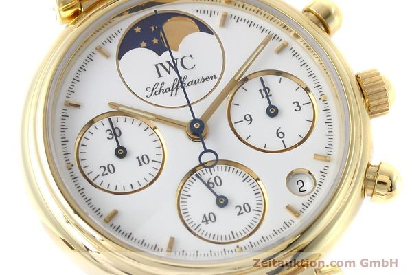 Used luxury watch IWC Da Vinci chronograph 18 ct gold quartz Kal. 630 Ref. 3736  | 152745 02