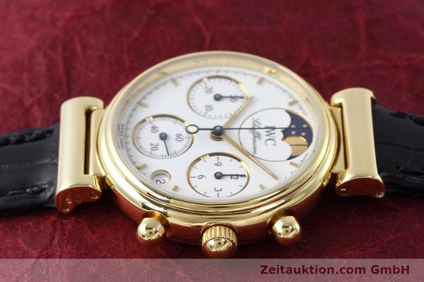 Used luxury watch IWC Da Vinci chronograph 18 ct gold quartz Kal. 630 Ref. 3736  | 152745 05