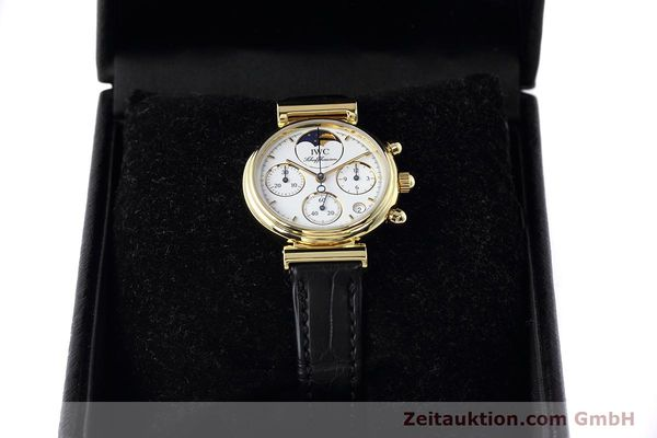 Used luxury watch IWC Da Vinci chronograph 18 ct gold quartz Kal. 630 Ref. 3736  | 152745 07