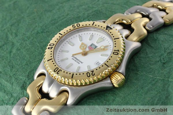 Used luxury watch Tag Heuer Professional steel / gold quartz Kal. 2.95 ETA 956112 Ref. WG1320-2  | 152752 01