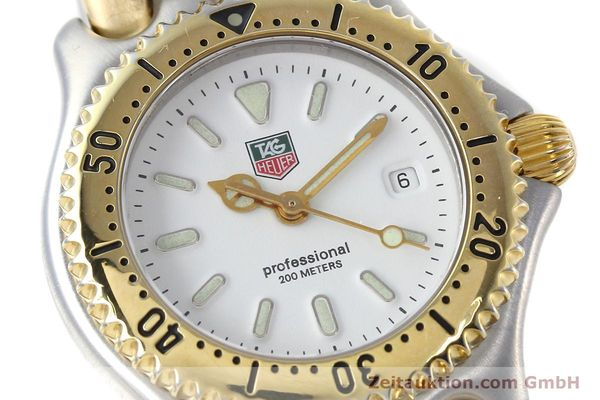 Used luxury watch Tag Heuer Professional steel / gold quartz Kal. 2.95 ETA 956112 Ref. WG1320-2  | 152752 02