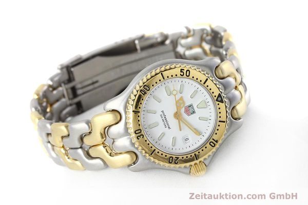 Used luxury watch Tag Heuer Professional steel / gold quartz Kal. 2.95 ETA 956112 Ref. WG1320-2  | 152752 03