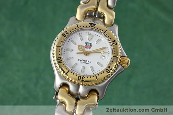 Used luxury watch Tag Heuer Professional steel / gold quartz Kal. 2.95 ETA 956112 Ref. WG1320-2  | 152752 04