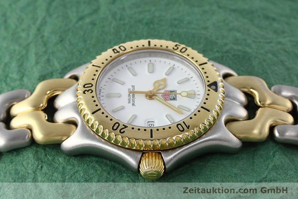 Used luxury watch Tag Heuer Professional steel / gold quartz Kal. 2.95 ETA 956112 Ref. WG1320-2  | 152752 05