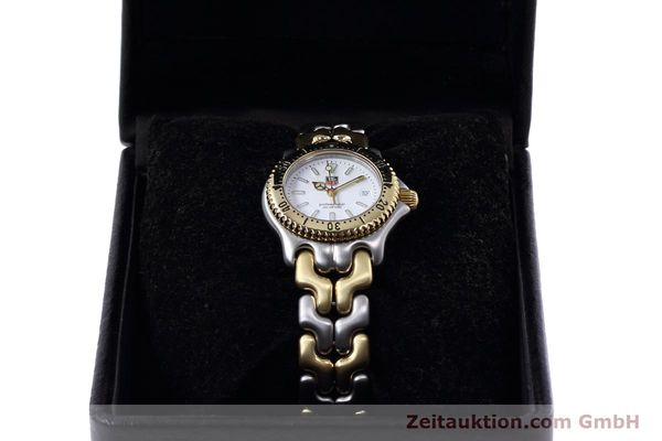 Used luxury watch Tag Heuer Professional steel / gold quartz Kal. 2.95 ETA 956112 Ref. WG1320-2  | 152752 07