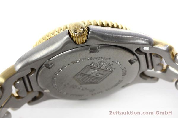 Used luxury watch Tag Heuer Professional steel / gold quartz Kal. 2.95 ETA 956112 Ref. WG1320-2  | 152752 08