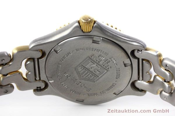 Used luxury watch Tag Heuer Professional steel / gold quartz Kal. 2.95 ETA 956112 Ref. WG1320-2  | 152752 09