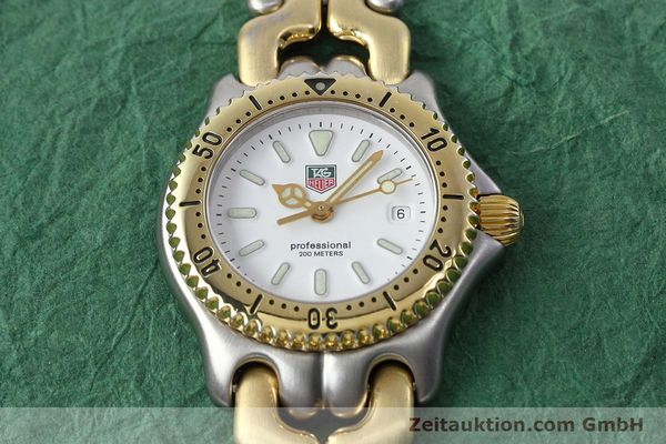 Used luxury watch Tag Heuer Professional steel / gold quartz Kal. 2.95 ETA 956112 Ref. WG1320-2  | 152752 13