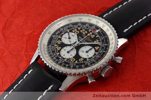 Used luxury watch Breitling Navitimer chronograph steel manual winding Kal. LWO 1324 Ref. A12023  | 152753 01